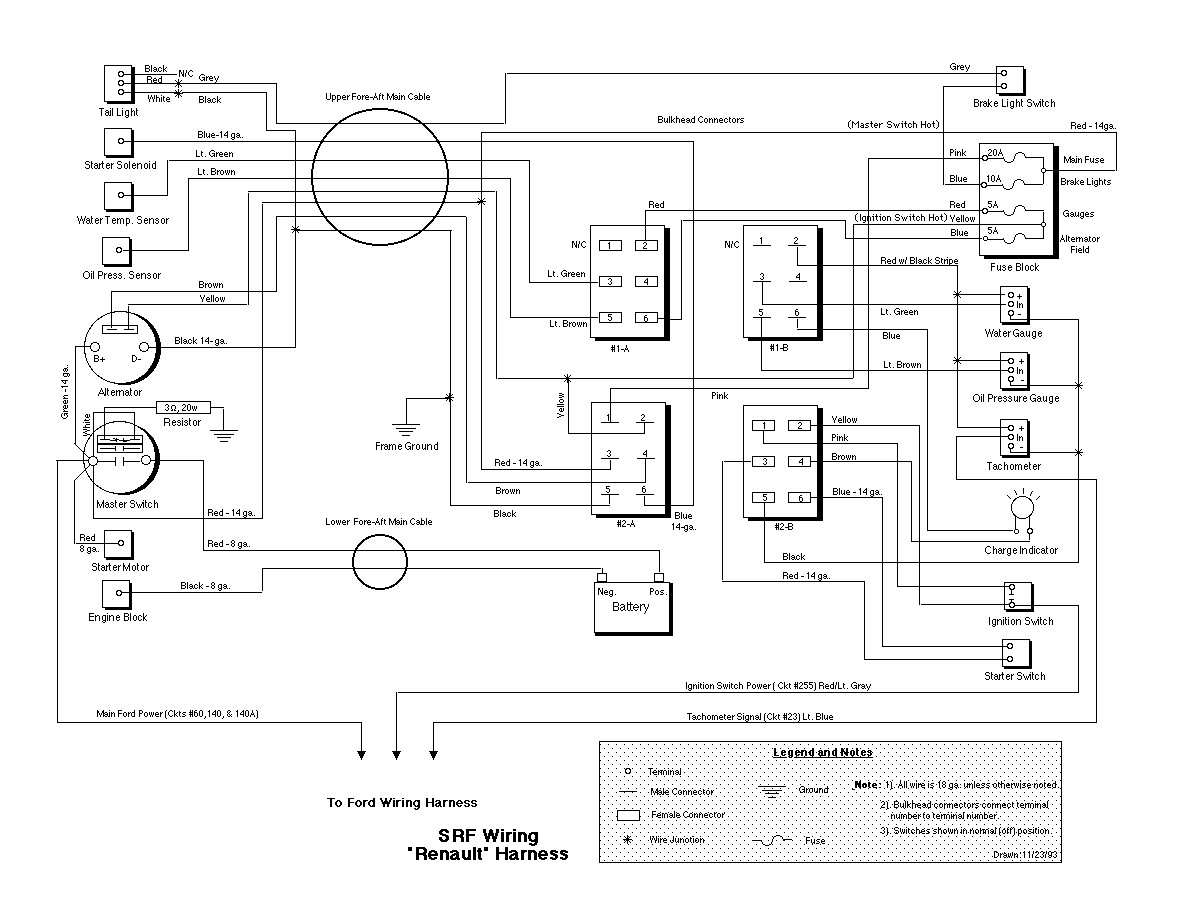 SRF_Renault_Wiring_Big avionics wiring diagrams mike aircraft wiring diagrams \u2022 wiring base engineering wiring diagrams at soozxer.org