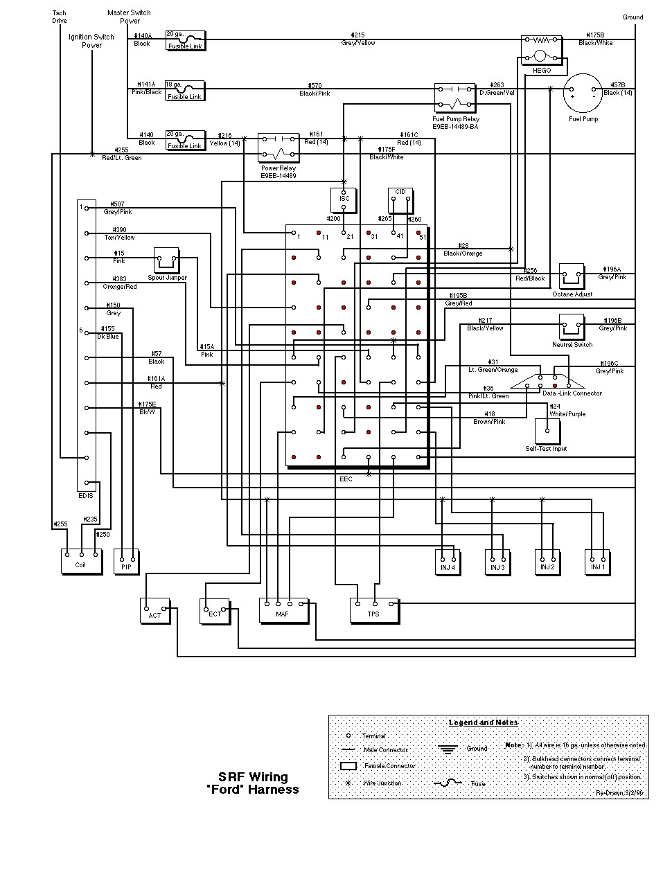 L9000 Wiring Schematic Simple Diagram Shematics 1965 Ford F100 Electrical Srf Diagrams Ltl 9000
